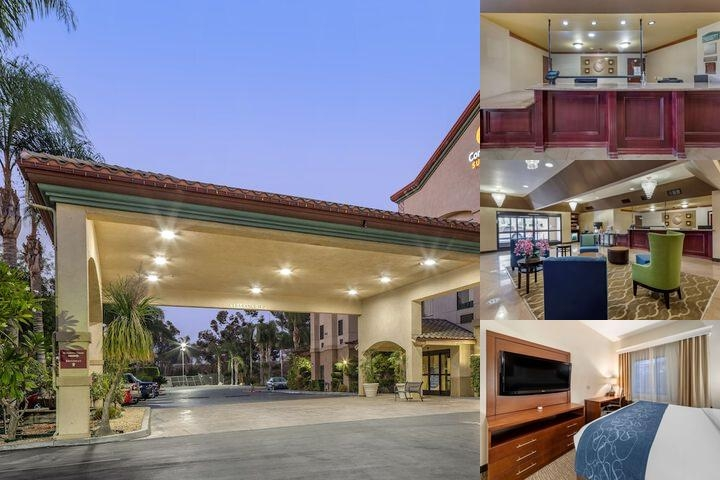 Comfort Suites Redlands photo collage