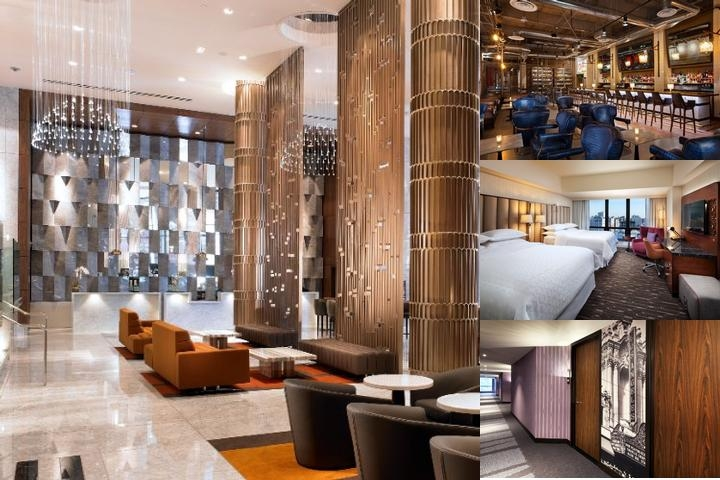 Sheraton Los Angeles Downtown Hotel photo collage