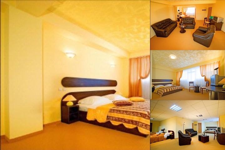 Charter Airport Hotel Bucharest photo collage