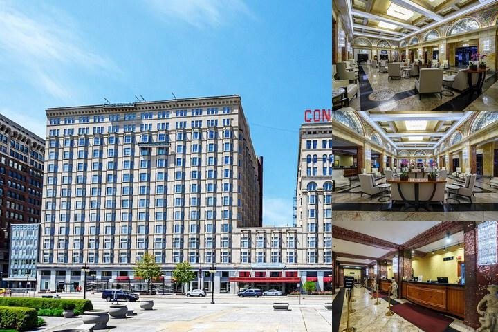 The Congress Plaza Hotel photo collage