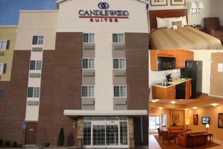 Candlewood Suites Louisville North photo collage