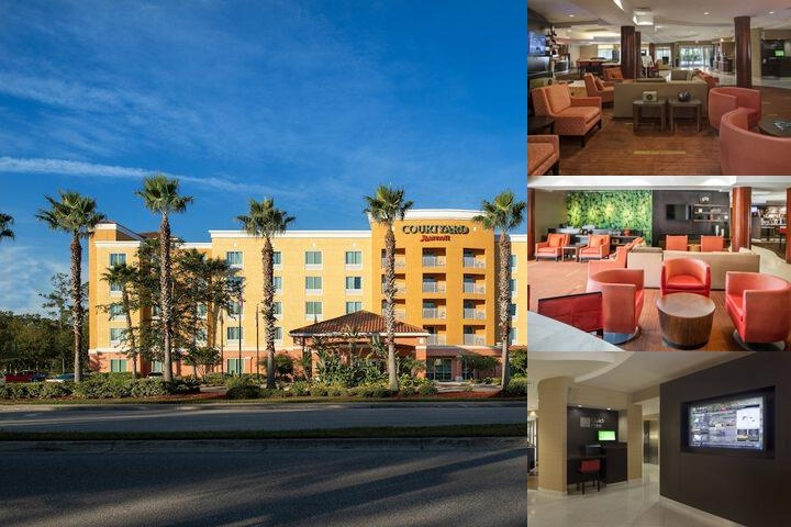 Courtyard Marriott Orange Park photo collage