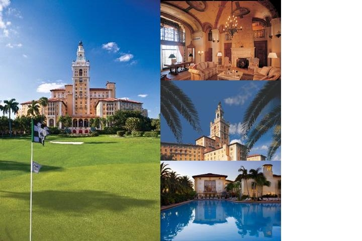 Biltmore Hotel Coral Gables photo collage