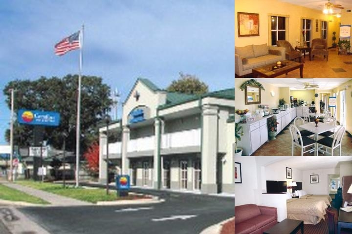 Comfort Inn 174 Amp Suites Panama City Fl 3602 West Highway