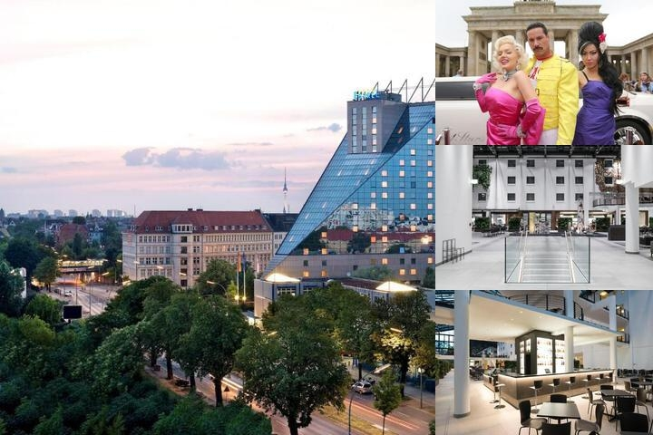 Estrel Hotel Berlin photo collage