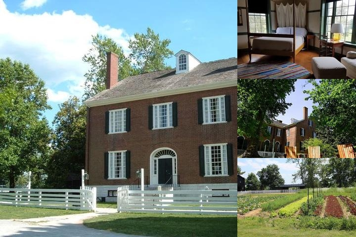 Shaker Village photo collage