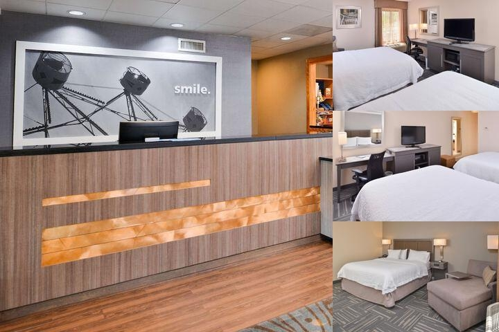 Hampton Inn Universal photo collage