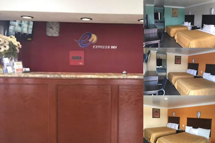 Express Inn photo collage