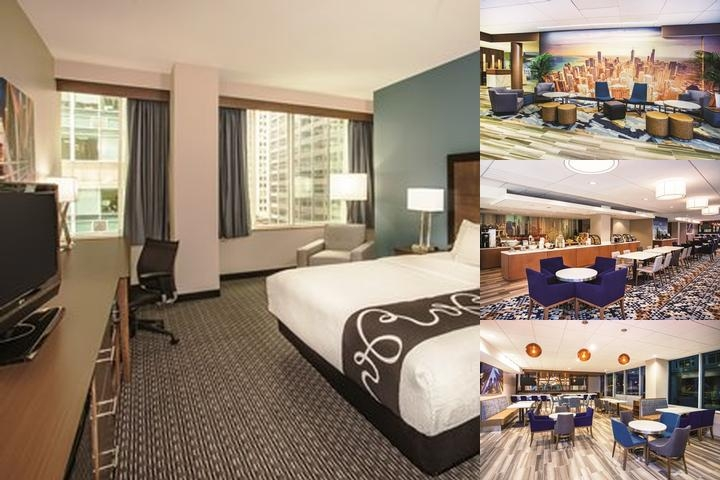 La Quinta Inn & Suites Chicago Downtown by Wyndham photo collage