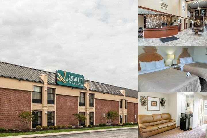 Quality Inn & Suites Greenfield photo collage