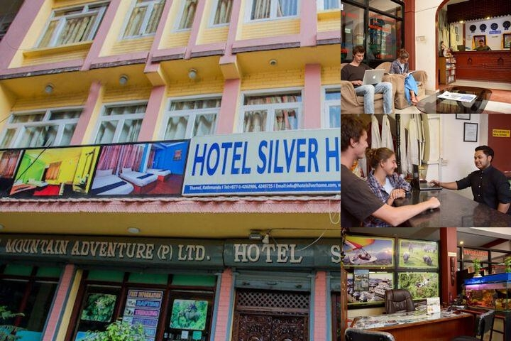 Hotel Silver Home photo collage