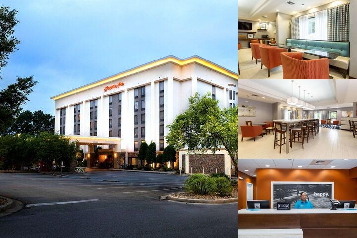 Hampton Inn Harbison photo collage