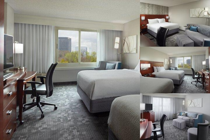 Atlanta Midtown Courtyard by Marriott photo collage