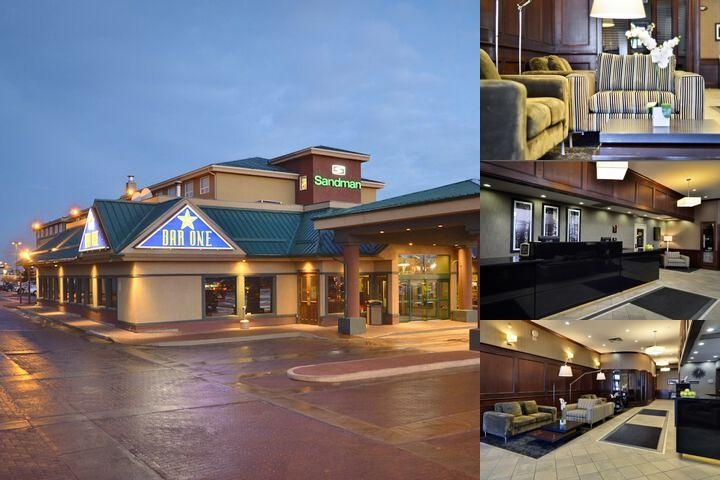 Sandman Hotel Grande Prairie photo collage