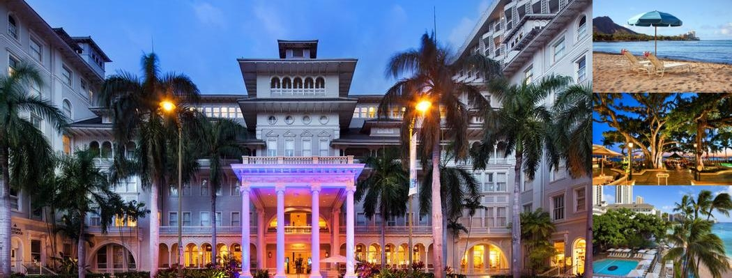 Moana Surfrider a Westin Resort & Spa photo collage