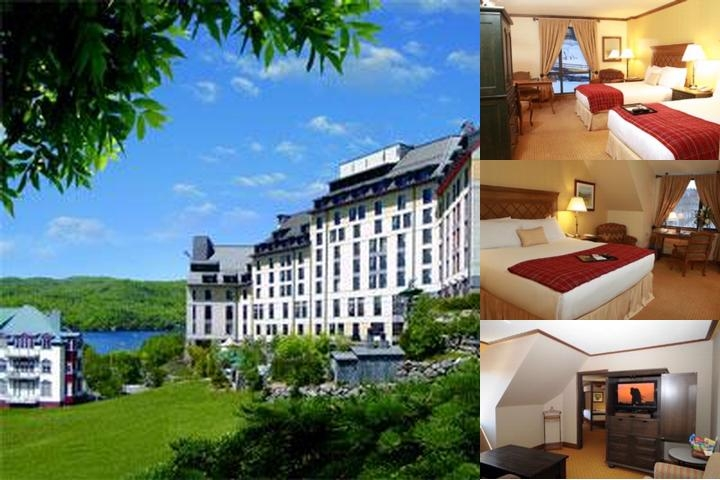 Fairmont Tremblant photo collage