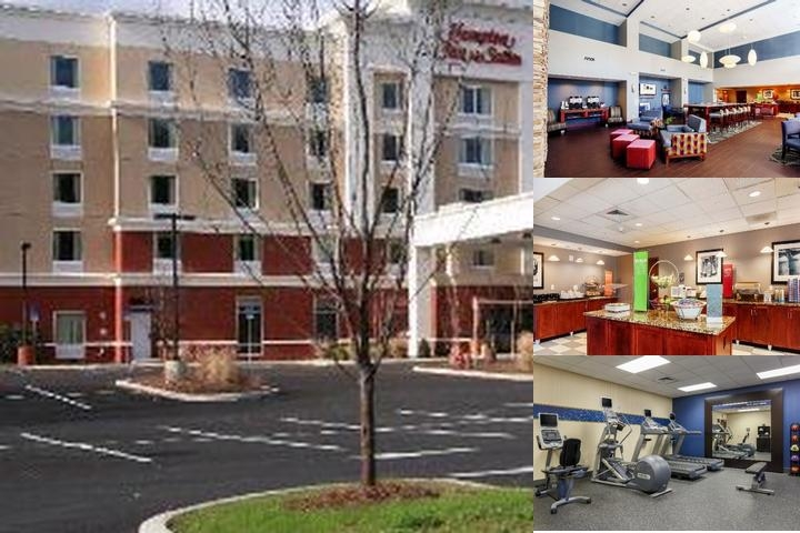 Poughkeepsie Hampton Inn & Suites photo collage