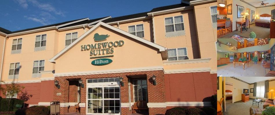Homewood Suites Airport Plainfield photo collage