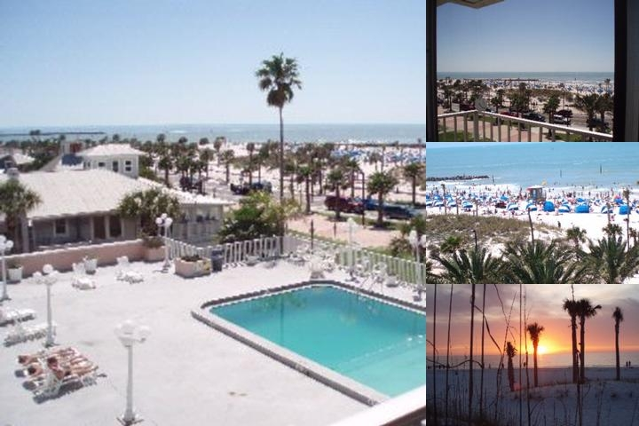 Beachview Inn Clearwater Beach photo collage