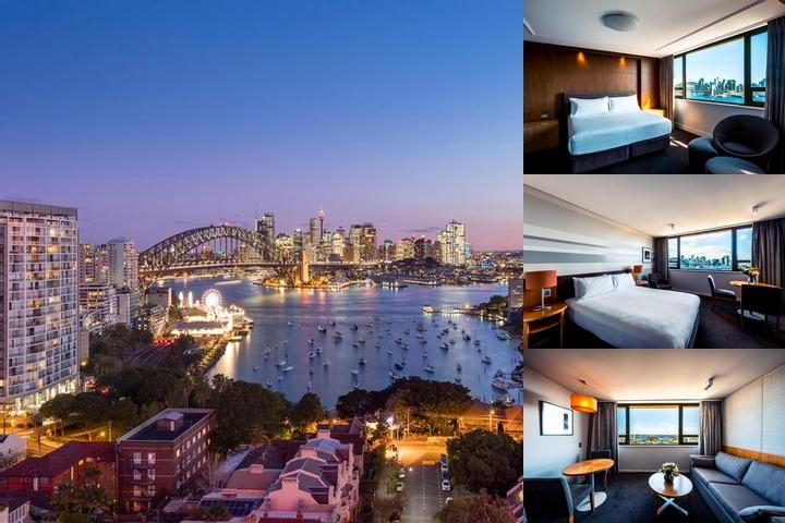 North Sydney Harbourview Hotel photo collage