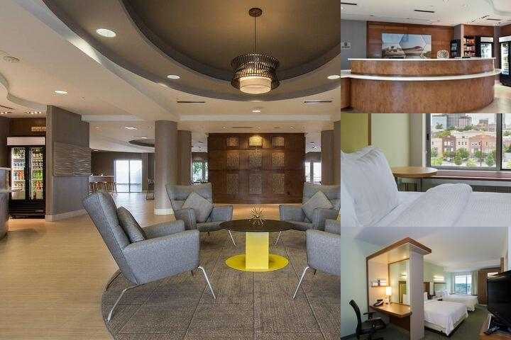 Springhill Suites Columbia Downtown photo collage