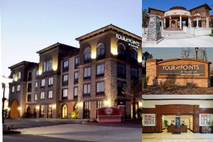 Four Points by Sheraton Ontario Rancho Cucamonga photo collage
