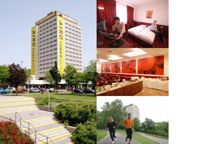 Hotel Airo Wien photo collage