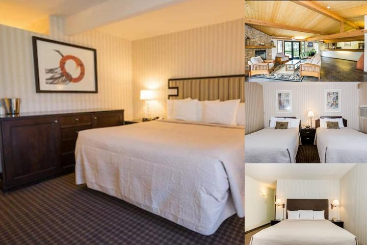 Los Gatos Lodge photo collage