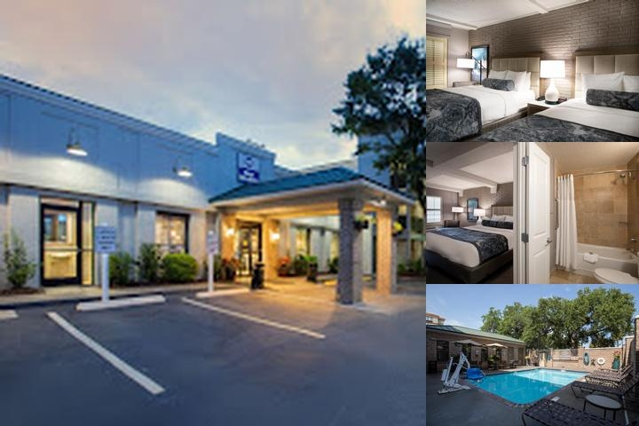 Best Western Savannah Historic District photo collage