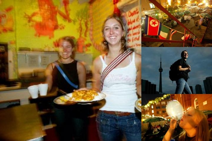 Global Village Backpackers photo collage