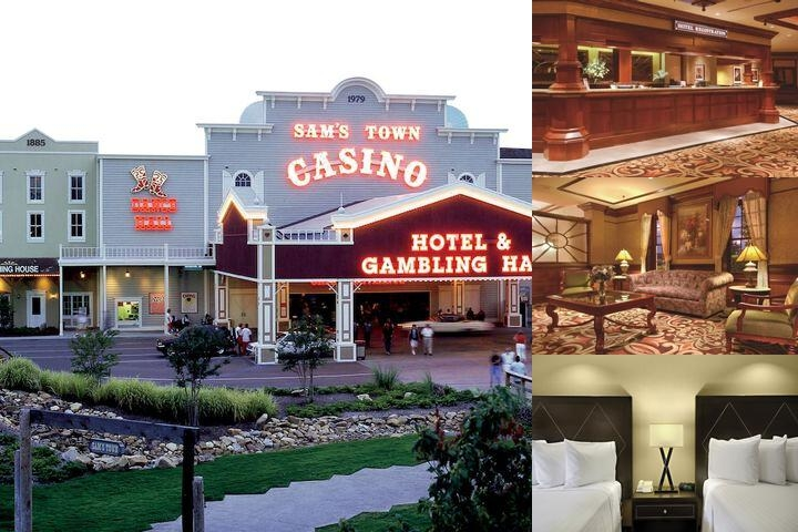Sam's Town Tunica photo collage