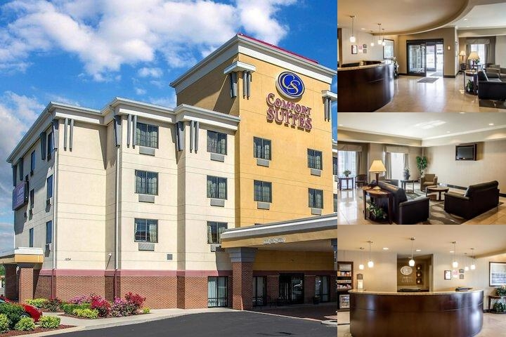 Comfort Suites Forest Park photo collage