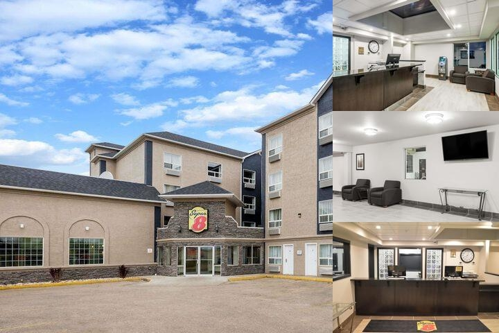Super 8 Hotel Grande Prairie photo collage