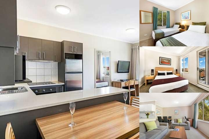 Punt Road Apartment Hotel photo collage
