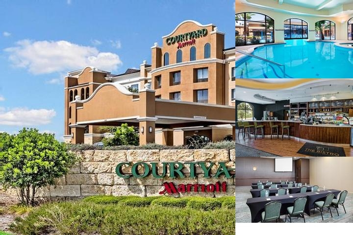 Courtyard by Marriott Seaworld Westover Hills photo collage