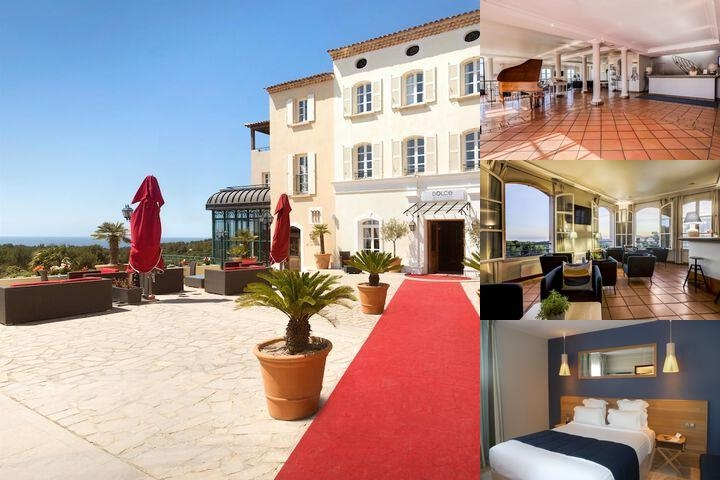 Dolce Fregate Provence photo collage
