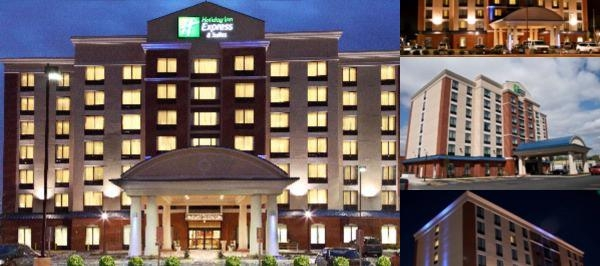 Holiday Inn Express & Suites Hotel Osu photo collage