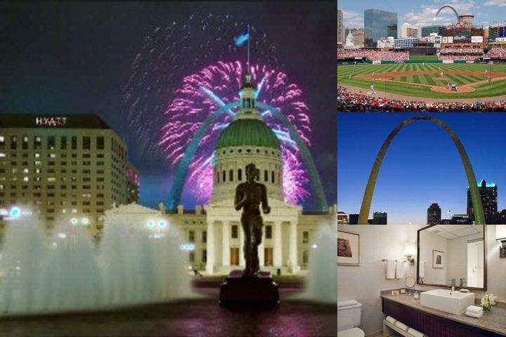 Hyatt Regency St. Louis at the Arch photo collage
