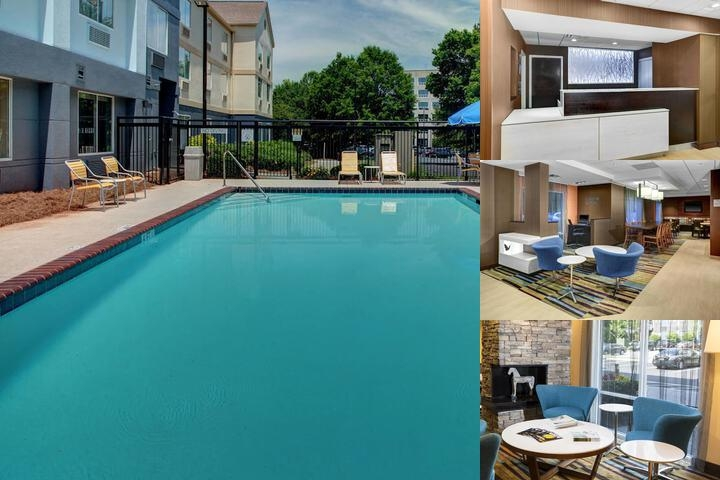 Fairfield Inn & Suites / Alpharetta by Marriott photo collage