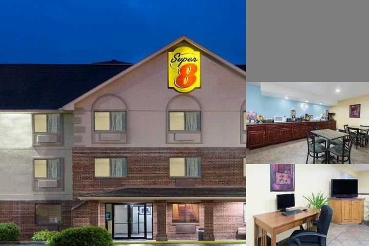 Super 8 Morgantown photo collage