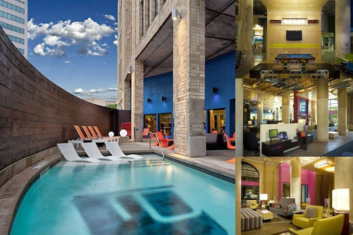 Aloft Dallas Downtown photo collage