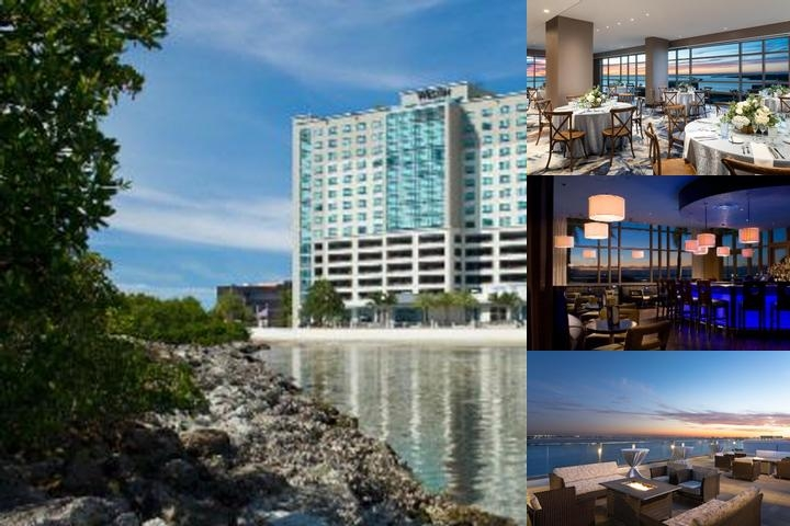 Westin Tampa Bay photo collage