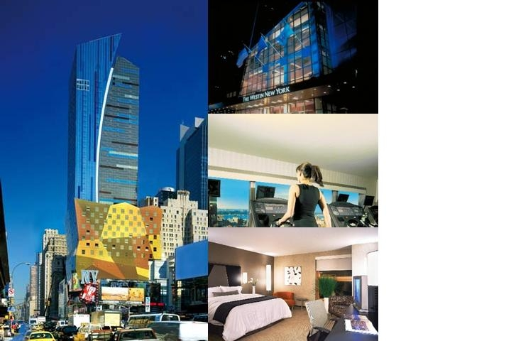 Westin New York at Times Square photo collage