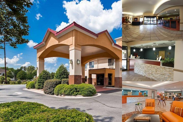 Best Western Plus Suites Greenville photo collage
