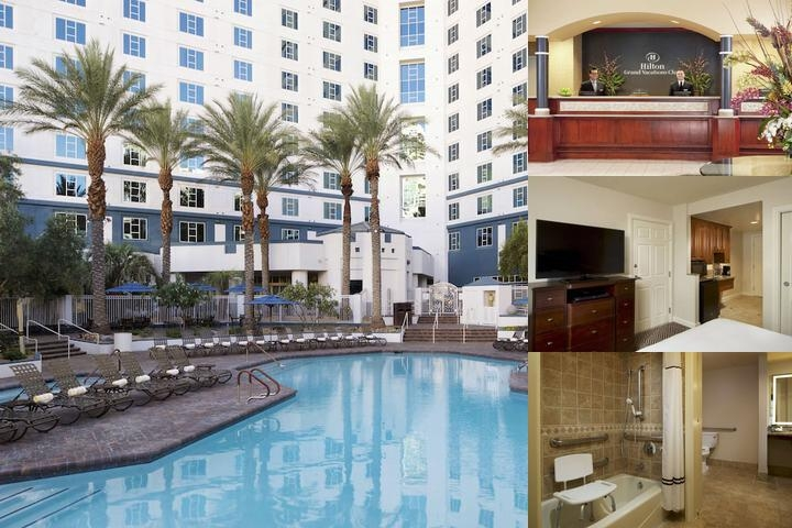 Hilton Grand Vacations Club Las Vegas photo collage