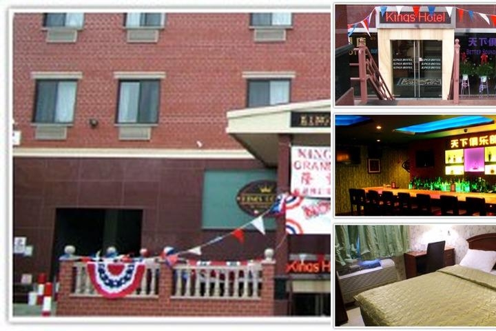 Kings Hotel photo collage