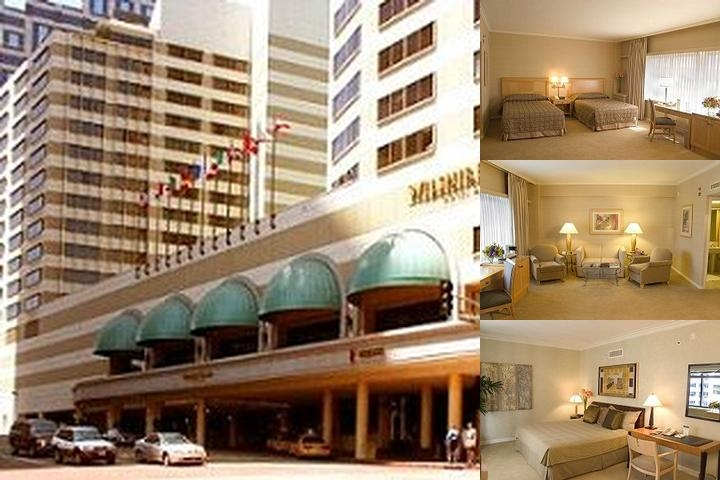 Wilshire Grand Los Angeles photo collage