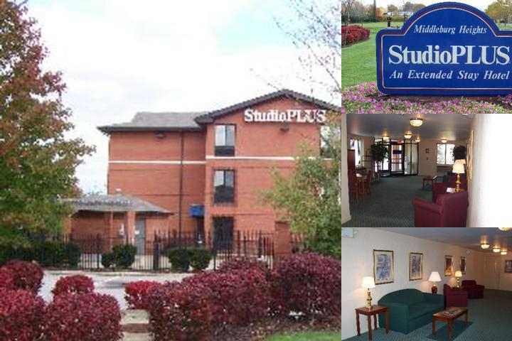 Studio Plus Cleveland Middleburg Heights photo collage