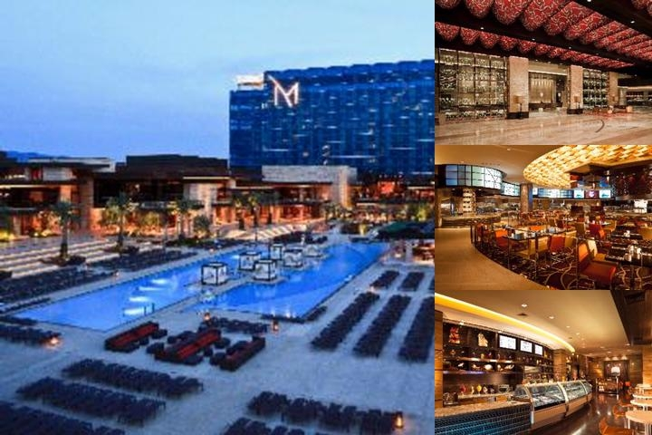 M Resort Spa Casino photo collage