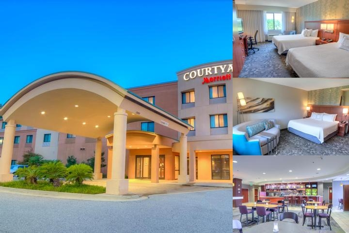 Courtyard Marriott Mobile / Daphne Eastern Shore Enjoy The Freedom To Roam In Our Spacious And Inviting Lobby.